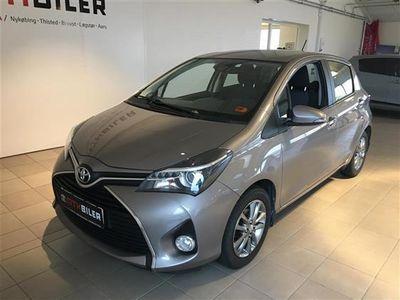gebraucht Toyota Yaris 1,3 VVT-I T2 Premium Safety Sense Multidrive S 100HK 5d 6g Aut.