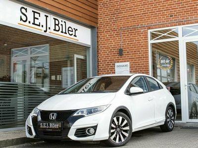 używany Honda Civic 1,6 i-DTEC Elegance 120HK 5d