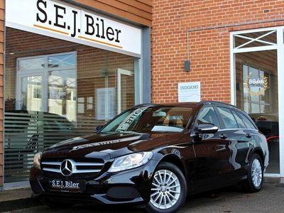 brugt Mercedes C220 2,1 BlueTEC Business stc. 170HK aut 5d