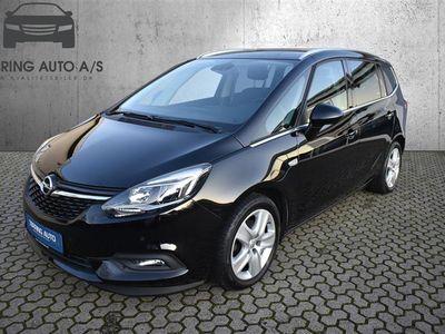 brugt Opel Zafira Tour 1,4 Turbo Enjoy 140HK 6g Aut. - Personbil - Sortmetal - 7 pers.