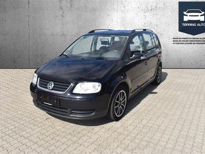 brugt VW Touran 7 Sæder 1,9 TDI Conceptline 90HK 6g - Personbil - Sort