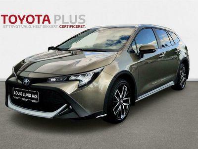 brugt Toyota Corolla Touring Sports 1,8 Hybrid H3 TREK E-CVT 122HK Stc Trinl. Gear A+++