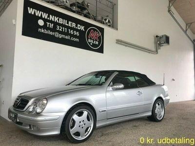 brugt Mercedes CLK430