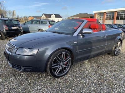 brugt Audi S4 4,2 V8 Quattro Tiptr. 344HK Cabr. Aut.