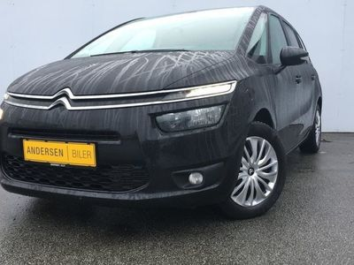 brugt Citroën Grand C4 Picasso 1,6 e-HDi Attraction ETG6 90HK Van 6g Aut.