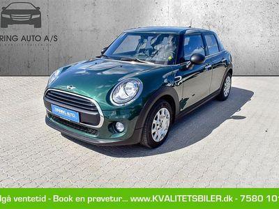 brugt Mini ONE 1,2 102HK 5d 6g - Personbil - grøn - british racing green