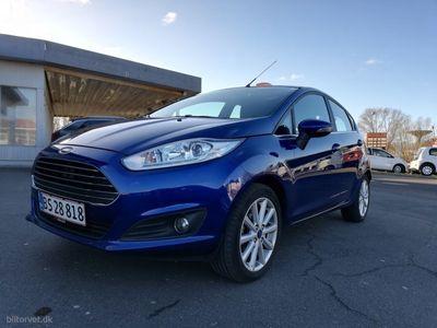 käytetty Ford Fiesta 1,0 EcoBoost Titanium Start/Stop 140HK 5d