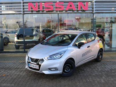 brugt Nissan Micra 0,9 IG-T Visia Start/Stop 90HK 5d