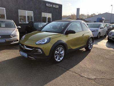brugt Opel Adam 1,0 Turbo Rocks 115HK 3d