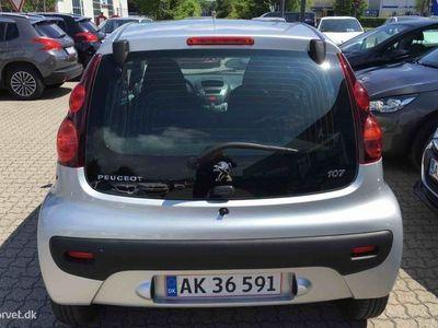brugt Peugeot 107 1,0 Active Air 68HK 5d