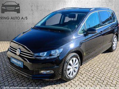 używany VW Touran 1,4 TSI BMT Comfortline DSG 150HK 7g Aut. - Personbil - sort