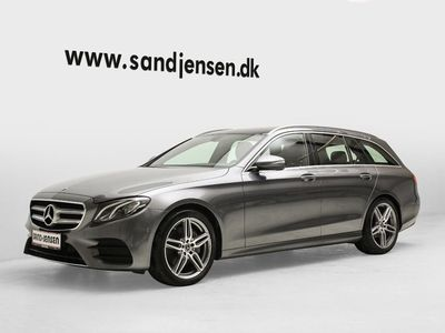 usata Mercedes E220 2,0 AMG Line stc. aut.