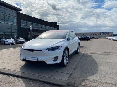 brugt Tesla Model X 90D el EL 7 sæder 525HK 5d