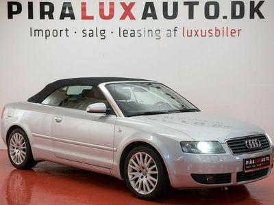 usata Audi A4 Cabriolet 2,4 V6 Multitr.