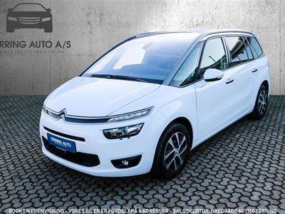 brugt Citroën Grand C4 Picasso 1,6 Blue HDi Intensive EAT6 start/stop 120HK 6g Aut. - Personbil - hvid - 7 pers.