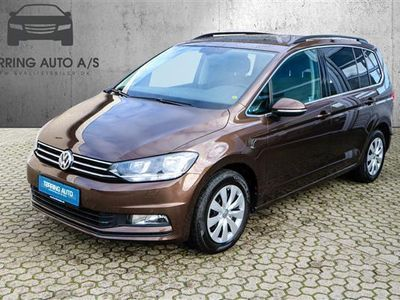 usado VW Touran 1,4 TSI BMT Comfortline 150HK 6g - Personbil - brun