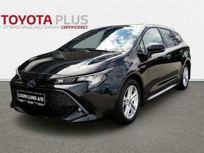 brugt Toyota Corolla Touring Sports 2,0 Hybrid H3 Smart E-CVT 180HK Stc 6g Aut. A++