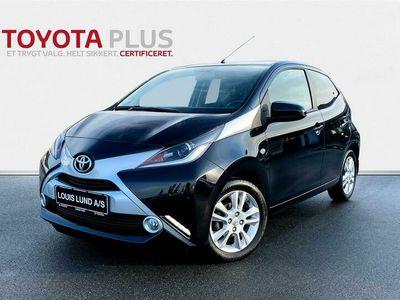brugt Toyota Aygo 1,0 VVT-I X-Cellence 69HK 5d A++