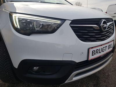 brugt Opel Crossland X 1,2 Turbo Innovation Start/Stop 110HK 5d 6g Aut. A