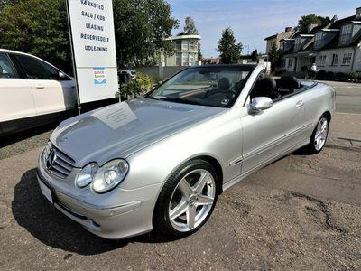 brugt Mercedes CLK320 3,2 Cabriolet Elegance aut.