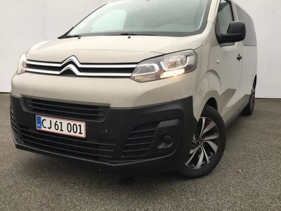 brugt Citroën Jumpy SpaceTourer L2 1,5 Blue HDi Combi 120HK 6g