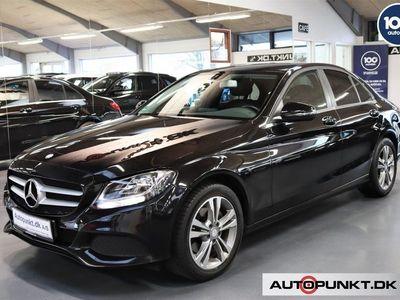 brugt Mercedes C200 2,0 Business