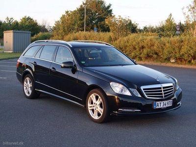 brugt Mercedes E200 CDI BE Aut. 136HK Stc