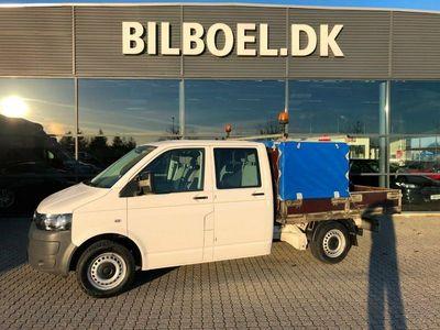 brugt VW Transporter 2,0 TDi 114 Mandskabsvogn m/lad