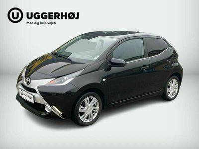brugt Toyota Aygo 1,0 VVT-i x-black II