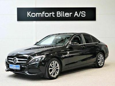 brugt Mercedes C220 d Business aut. 2,2