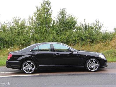 brugt Mercedes S500 Lang 4,7 BlueEfficiency 4-Matic 435HK 7g Aut.