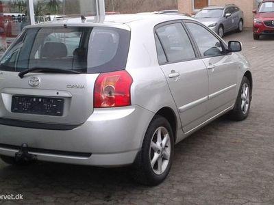 brugt Toyota Corolla 1,6 Linea Terra 110HK 5d Aut.