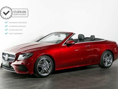 used Mercedes E300 0 AMG Line Cabriolet aut.