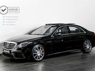 brugt Mercedes S63 AMG 4,0 AMG aut. 4-M+ lang