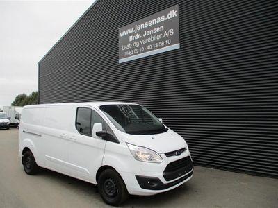 brugt Ford Custom Transit340 L2H1 2,0 TDCi Limited 170HK Van 6g 2018