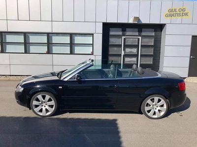 brugt Audi A4 Cabriolet V6