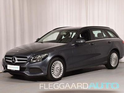 brugt Mercedes C200 T 2,0 Business Aut. 184HK Stc