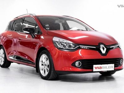 brugt Renault Clio Sport Tourer 1,5 Energy DCI Limited 90HK Stc