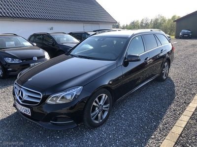 begagnad Mercedes E220 2,1 CDI BlueEfficiency Avantgarde 170HK Stc 7g Aut.