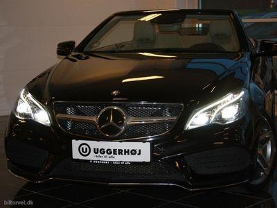 brugt Mercedes E500 7 CGI BlueEfficiency 408HK Cabr. 7g Aut.