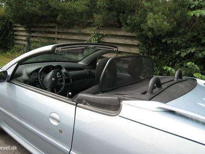 brugt Peugeot 206 CC 1,6 110HK Cabr.