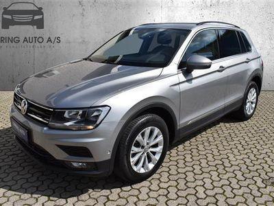 brugt VW Tiguan 1,4 TSI ACT Comfortline DSG 150HK 5d 6g Aut. - Personbil - gråmetal