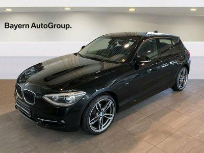 begagnad BMW 116 d 2,0 aut.