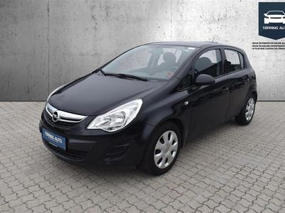 brugt Opel Corsa 1,0 Twinport Enjoy 65HK 5d - Personbil - Sort