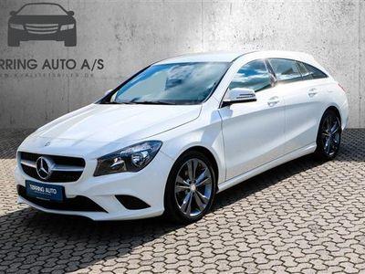 used Mercedes CLA200 1,6 156HK 4d 6g - Personbil - hvid