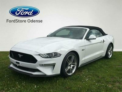 brugt Ford Mustang GT 5,0 Ti-VCT 450HK Cabr. 10g Aut.