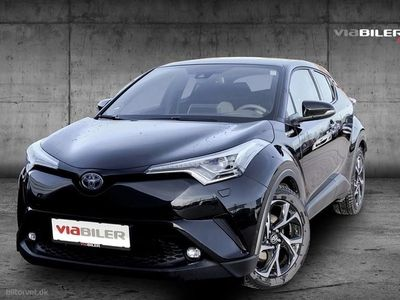 gebraucht Toyota C-HR 1,8 B/EL Premium Selected Multidrive S 122HK 5d Aut.