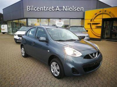 brugt Nissan Micra 1,2 Visia 80HK 5d
