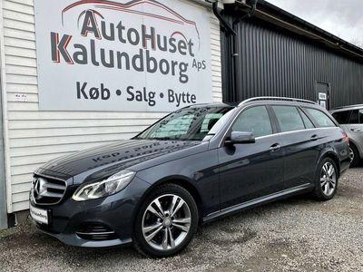 brugt Mercedes E250 2 BlueTEC Avantgarde stc. aut.