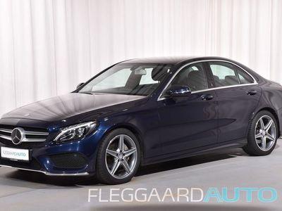 brugt Mercedes C220 d 2,1 D Business Plus AMG Line 9G-Tronic 170HK